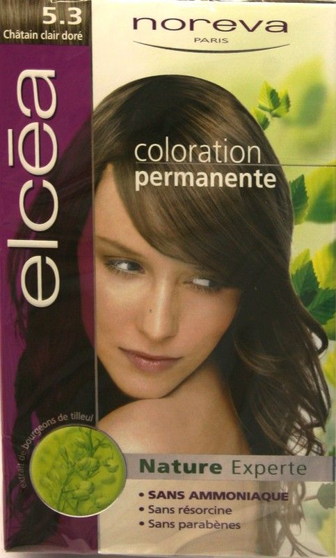 Elcea Coloration Permanente Chatain Clair Doré