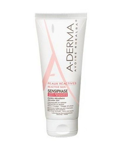 A-derma Sensiphase Gelée Micellaire Antirougeur 200ml