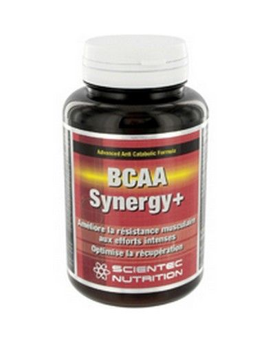 Scientec Nutrition Bcaa Synergy + 120 Capsules