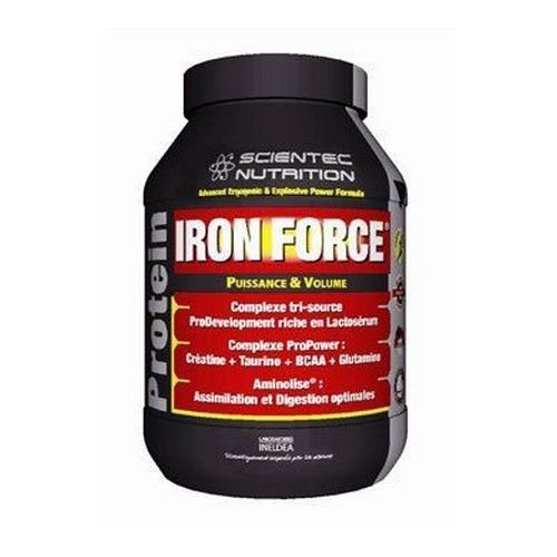Scientec Nutrition Iron Force Proteine 900g