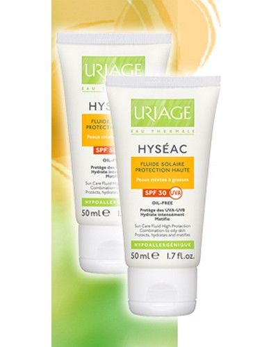 Uriage Hyseac Fluide Solaire Spf 50 50ml